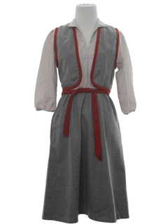 1970's Womens Dress & Vest