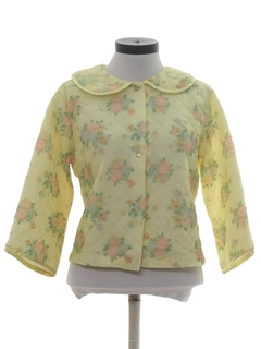 1960's Womens Bed Jacket