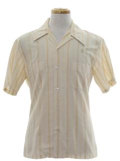 1970's Mens Mod Man Shirt