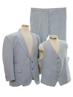 1980's Mens 3 Piece Suit
