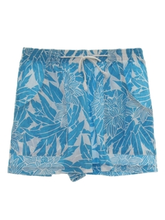 1980's Womens Totally 80s Hawaiian Shorts