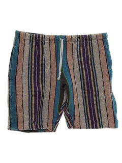 1980's Mens Baja Style Hippie Shorts