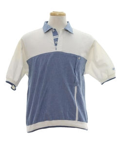 1980's Mens Totally 80s Golf Shirt