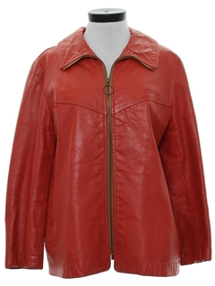 1970's Womens Leather Jacket