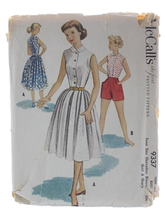1950's Womens/Girls Pattern