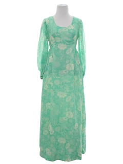 1960's Womens Hippie Dress
