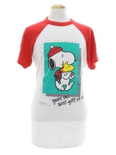 1980's Unisex Christmas T-shirt