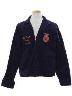 1990's Mens FFA Corduroy Jacket