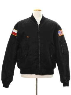 1980's Mens Reversible Bomber Style Jacket