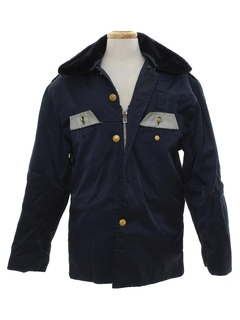 1960's Mens Police Style Work Jacket