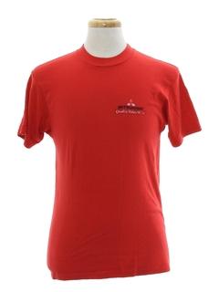 1980's Unisex Racing Auto T-shirt