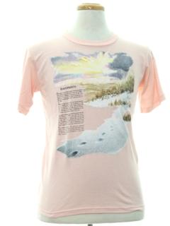1980's Unisex Cheesy Religious T-Shirt