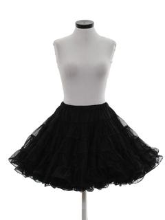 1990's Womens Lingerie Crinoline Slip Skirt