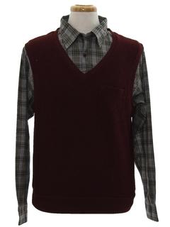 1980's Mens Mod Shirt