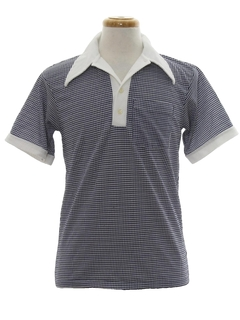 1970's Mens Knit Golf Shirt