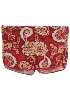 1970's Mens Hawaiian Style Swim Shorts