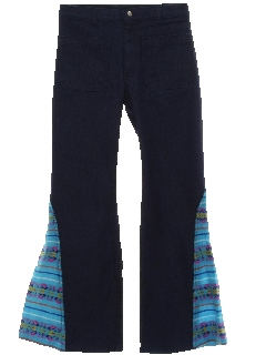 1970's Mens Elephant Bellbottom Jeans Pants