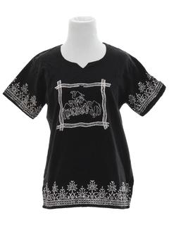 1980's Womens Hippie Shirt