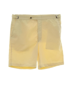 1980's Mens Totally 80s Preppy Golf Sport Shorts