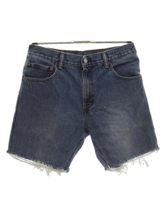 1990's Mens Levis 517 Cut-Off Denim Jeans Shorts