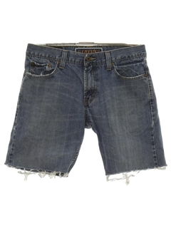 1990's Mens Levis 527 Cut-Off Denim Jeans Shorts