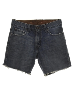 1990's Mens Levis Authentic Signature Cut-Off Jeans Shorts
