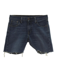 1990's Mens Levis 527 Denim Cut Off Jeans Shorts