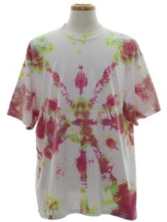 1990's Unisex Short Sleeve Tie Dye T-Shirt
