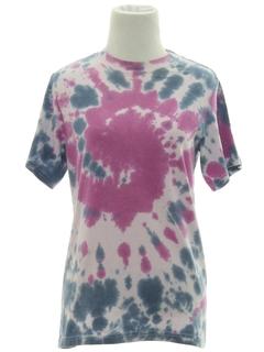 1990's Womens Tie Dye T-Shirt
