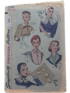 1950's Womens Hat Pattern