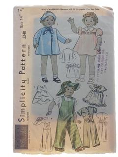 1940's Doll Pattern