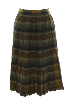 1950's Womens Wool Skirt