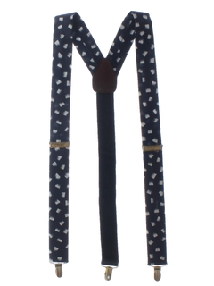 1980's Mens Accessories - Totally 80s Suspenders