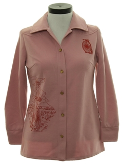 1960's Womens Leisure Shirt Jacket