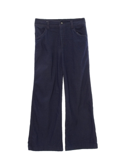 1970's Womens Denim Bellbottom Pants