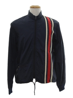 1970's Mens Windbreaker Style Racing Jacket