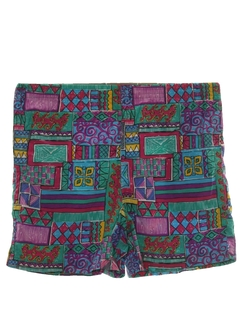1980's Totally 80s Unisex Shorts