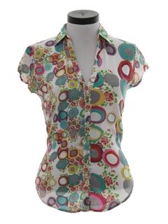 1980's Womens Mod Shirt