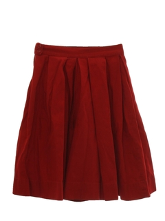 1960's Womens Coulotte Skirt