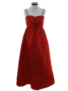 1960's Womens Designer Prom Or Cocktail Dress