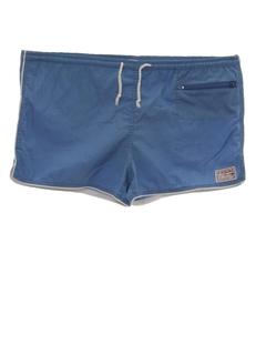 1980's Mens Swim Short Shorts
