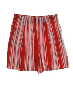 1980's Womens Striped Shorts
