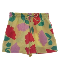 1980's Womens Print Shorts