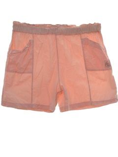 1980's Unisex Totally 80s Baggy Shorts