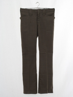 1970's Mens Flared Western Leisure Pants