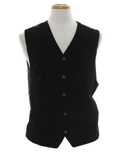1990's Mens Wicked 90s Velvet Suit Vest
