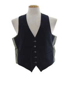 1970's Mens Reversible Suit Vest