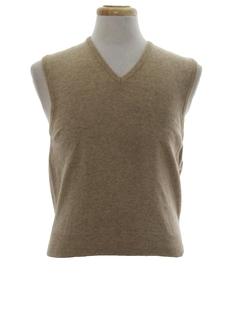 1970's Unisex Sweater Vest