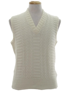 1970's Mens Sweater Vest