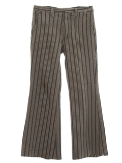 1960's Mens Mod Bellbottom Pants